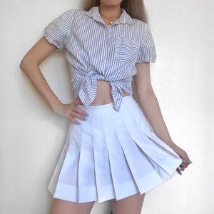 H&M blue stripped t shirt